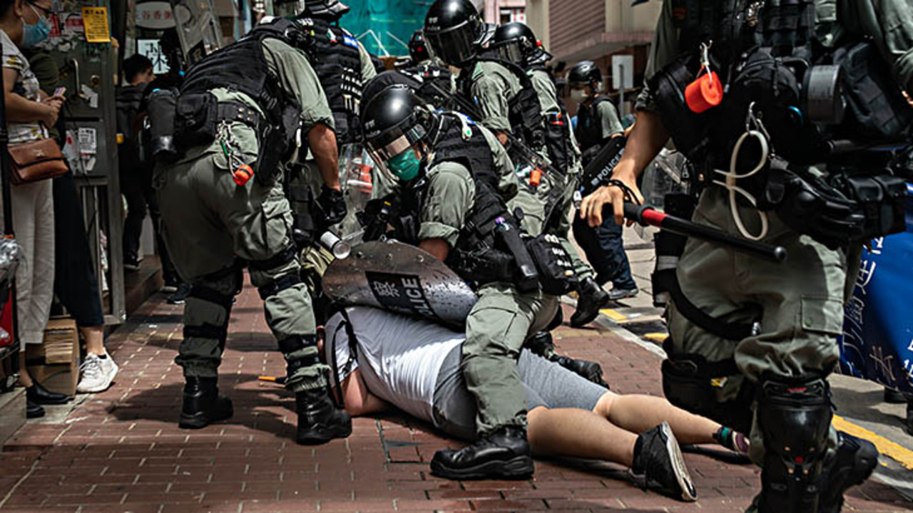 Hundreds arrested in Hong Kong protests