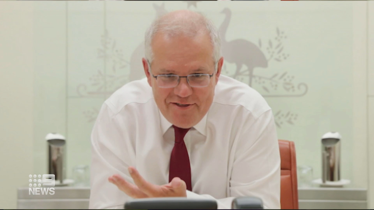 Morrison and Biden talk China and reaffirm alliance
