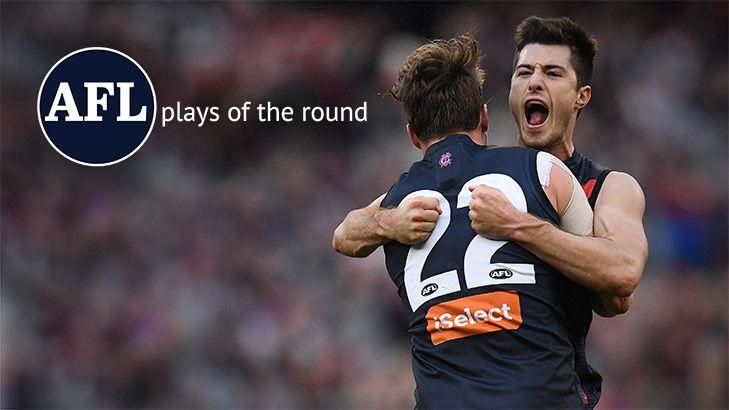 AFL plays of round 23