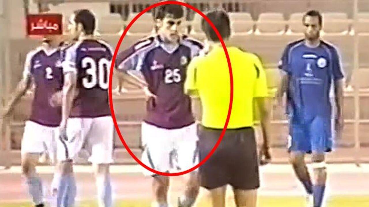Footage shows refugee footballer Hakeem al-Araibi competing
