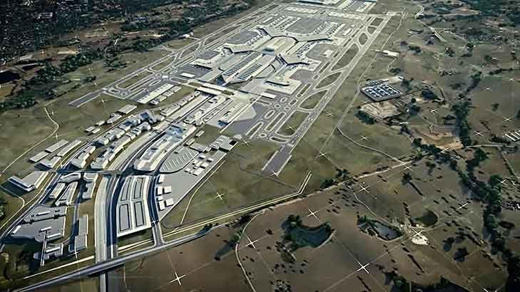 Vision of western Sydney 'aerotropolis' revealed