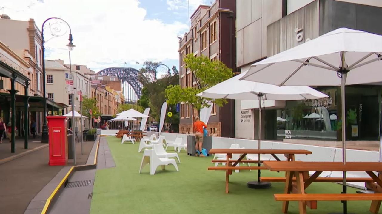 Sydney's outdoor dining revolution