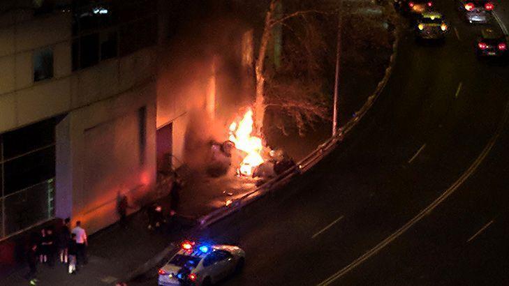 Three dead after CBD car crash