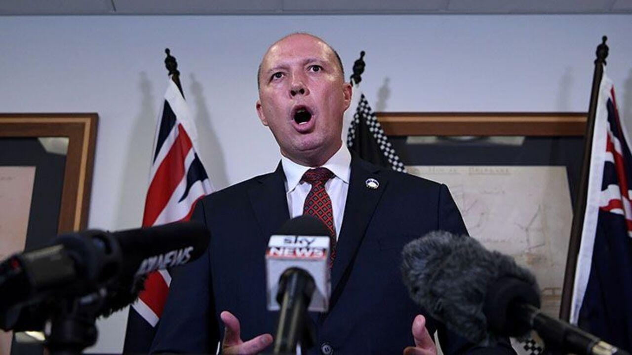 Dutton criticises encrypted messages