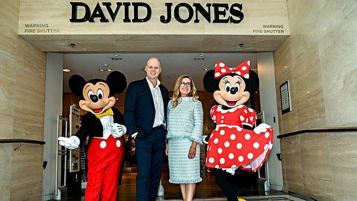 David Jones partners with Disney
