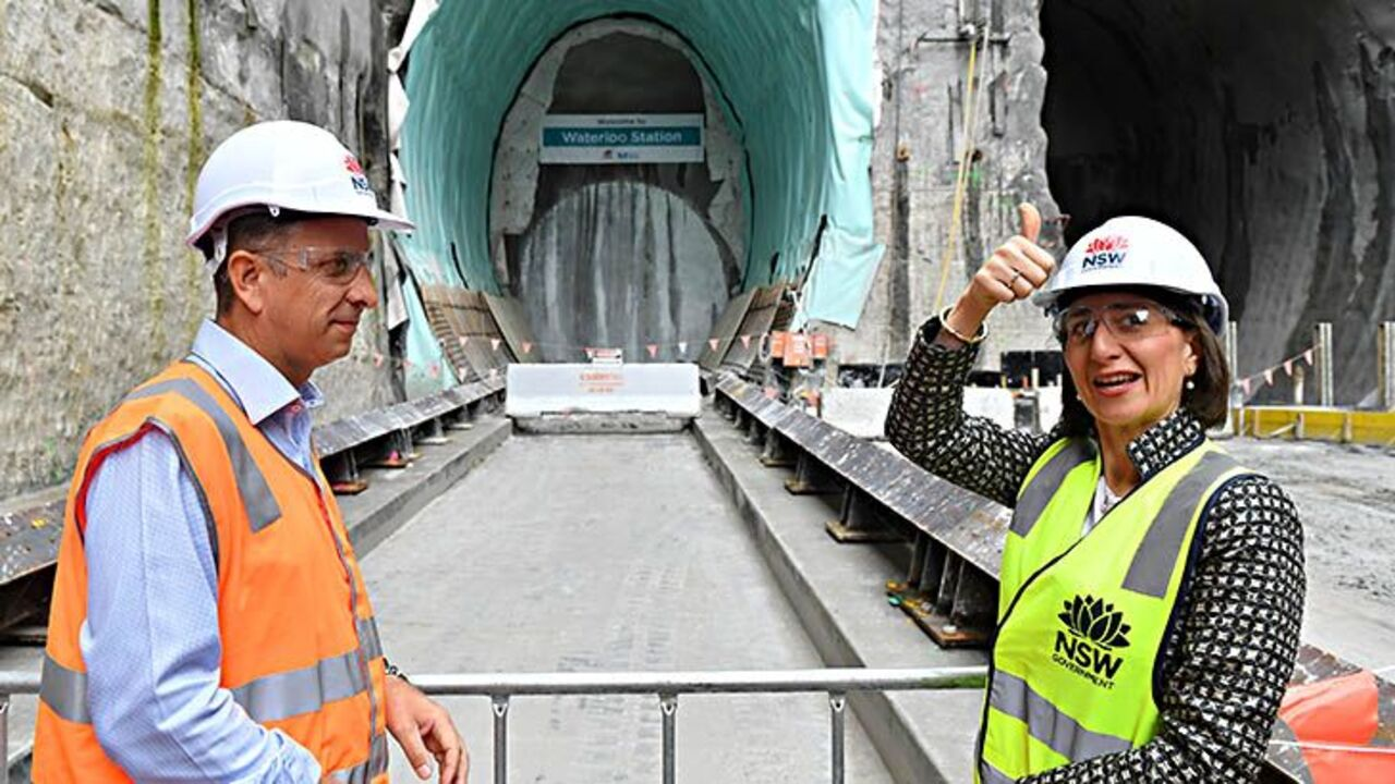 Metro project tunnel drill breaks through in Sydney