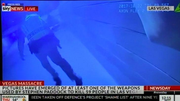 Body cam captures Las Vegas shooting