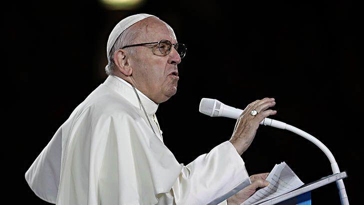 Pope says he's worried about homosexuality in the priesthood Image