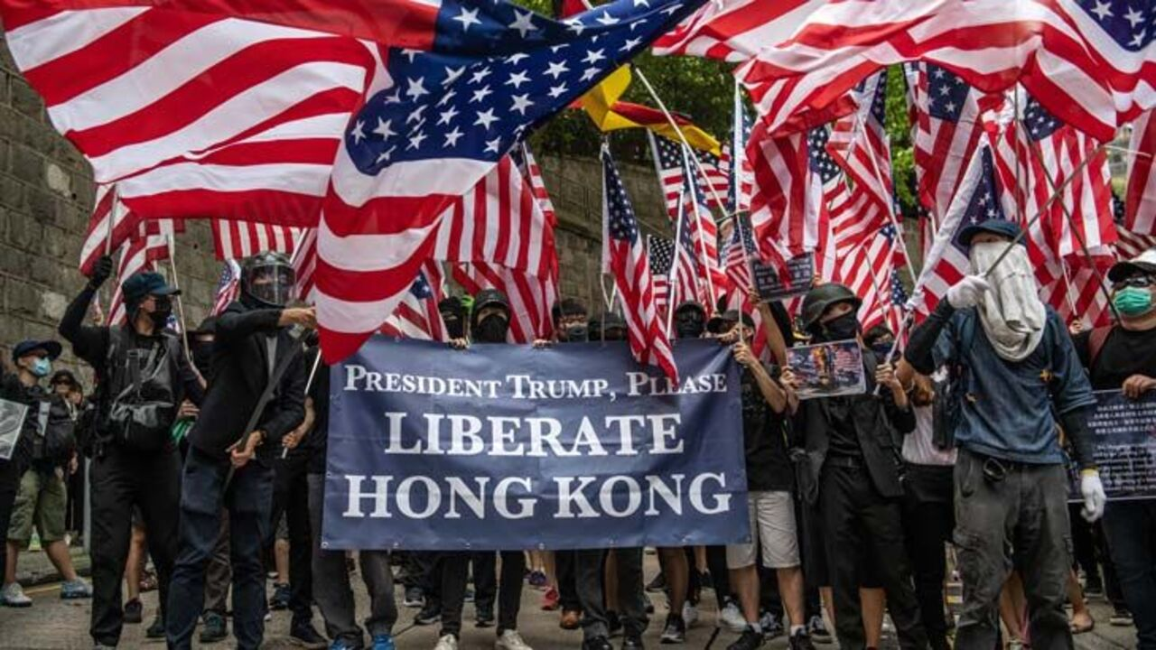 OZschwitz: federal MPs rally behind Hong Kong protests in push back against  China Image