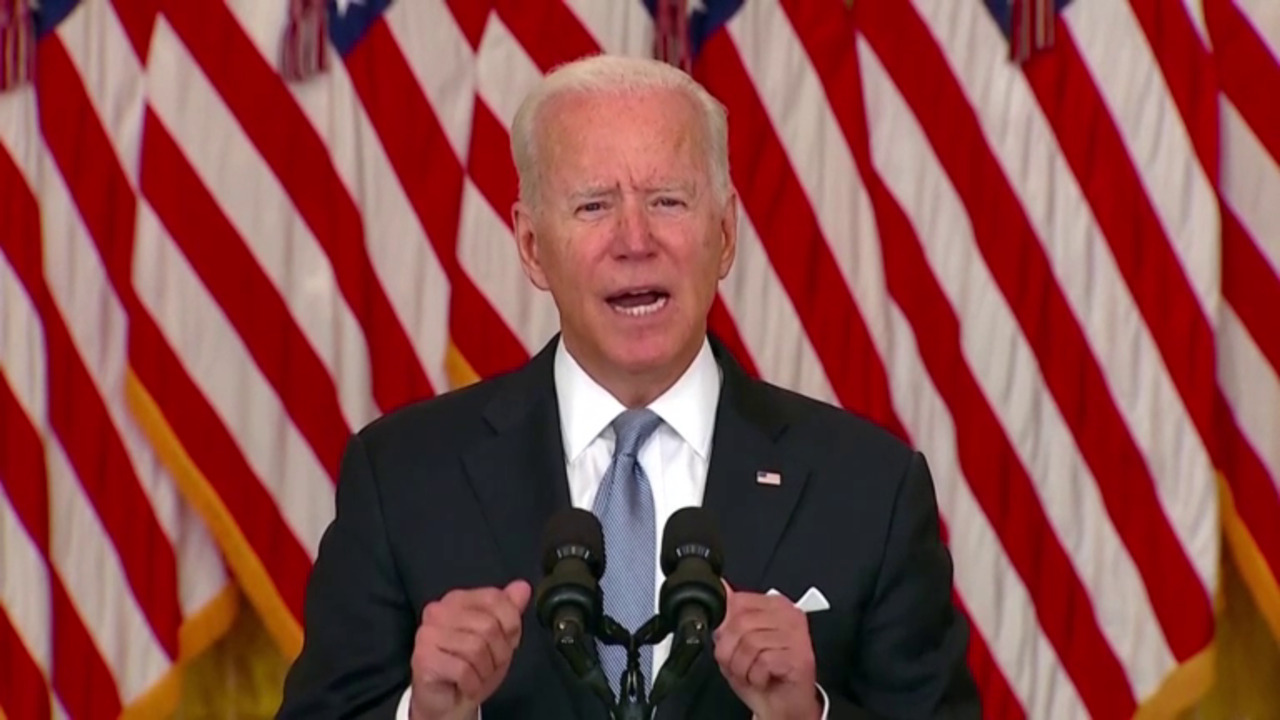 'I stand squarely behind my decision': Biden