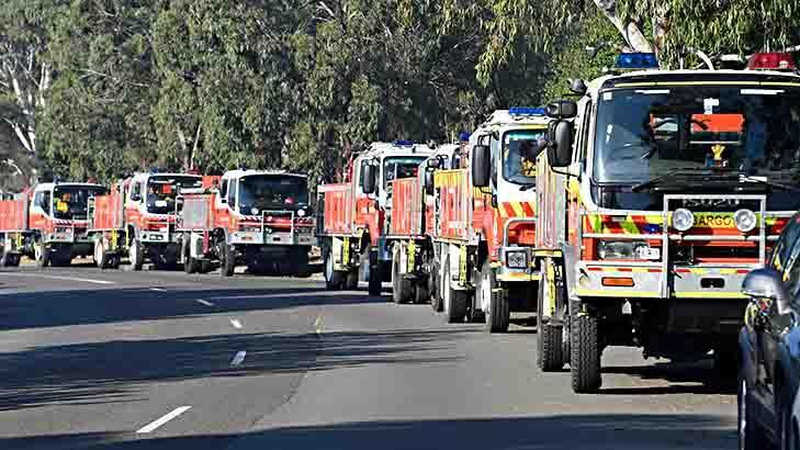 South-west Sydney fires downgraded to 'advice' level