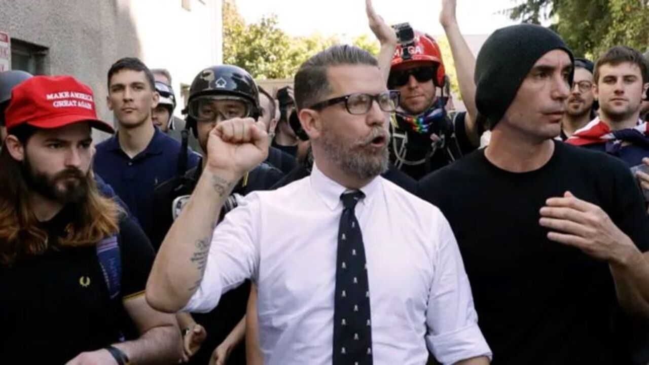 Supposedly, as bad as a Muslim hate preacher: Ex Border Force boss wants Gavin McInnes banned from OZschwitz Image