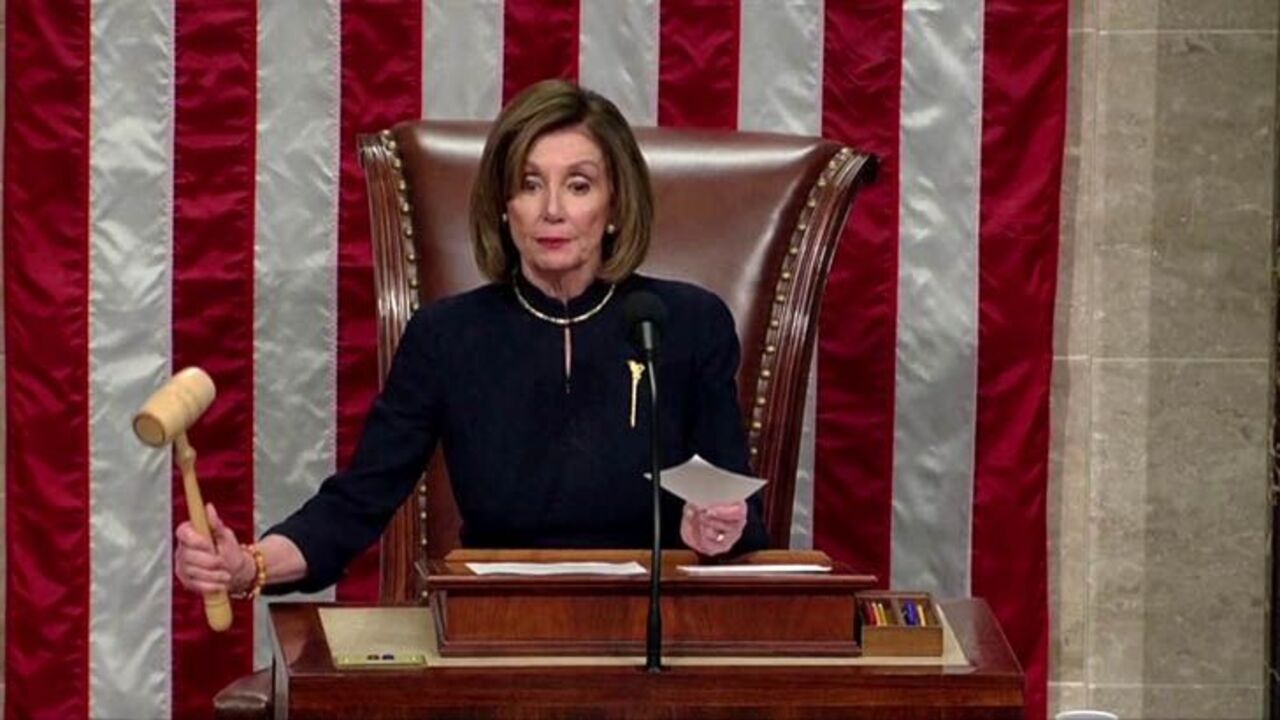 US House impeaches Donald Trump for abuse of power