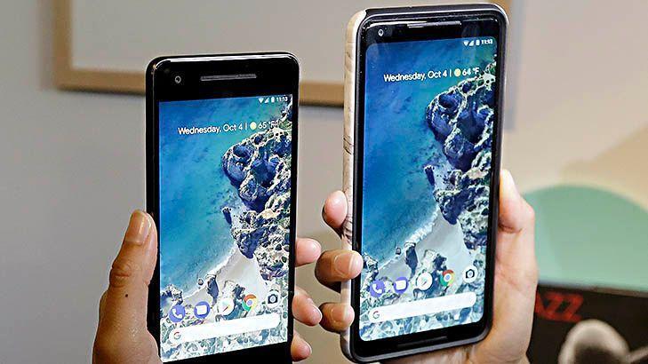 Google unveils two new phones