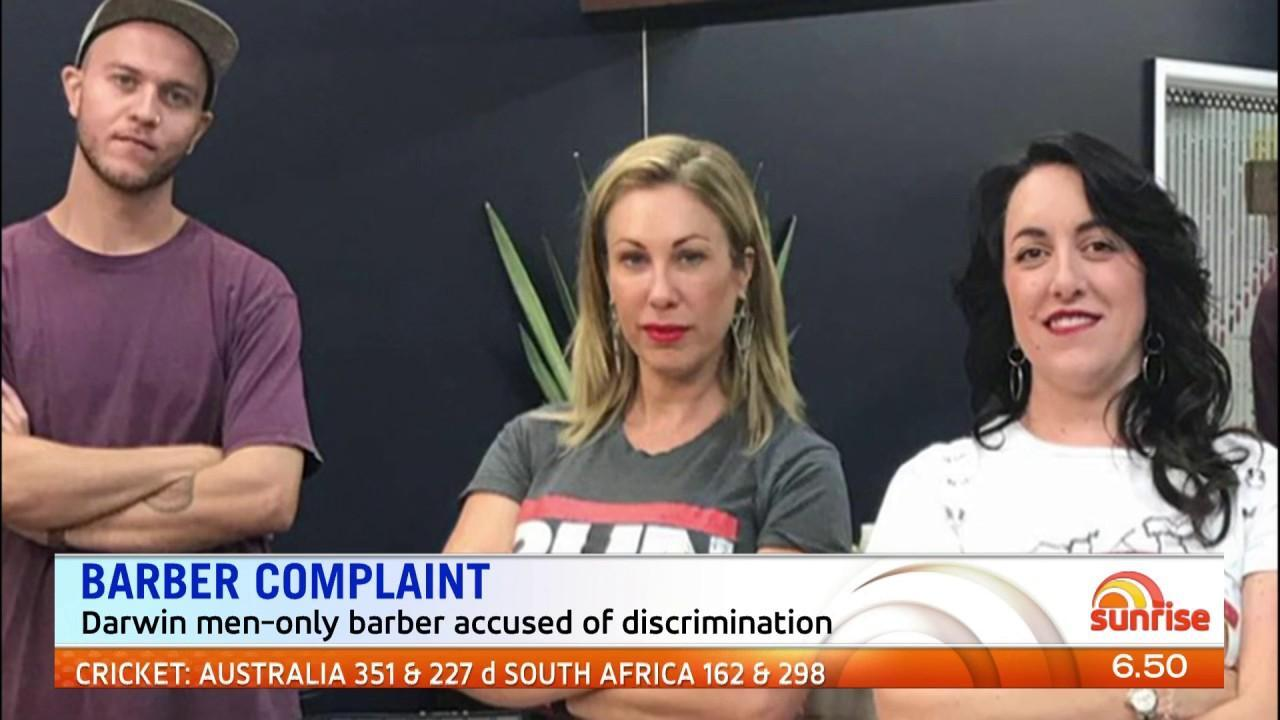The controversial barber says they are pro-men not anti-women.