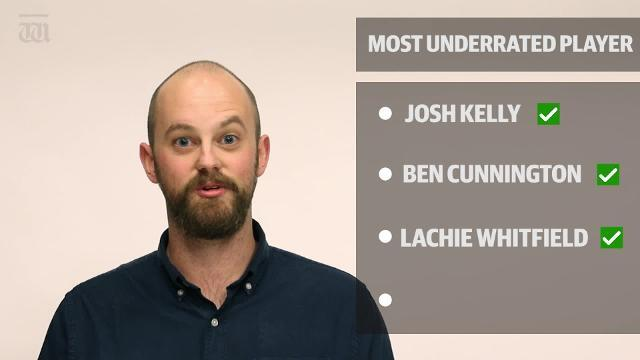 WATCH: Is West Coast's Brad Sheppard the most underrated player in the league? A few of our guys think so.
