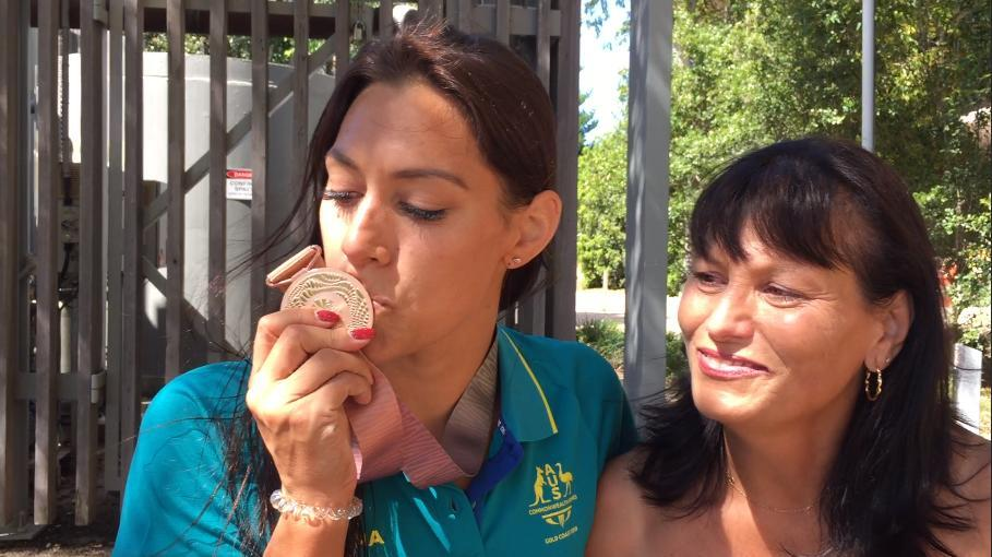It's taken a lot of hard work, but WA swimmer Blair Evans is thrilled with her first Commonwealth Games medal.