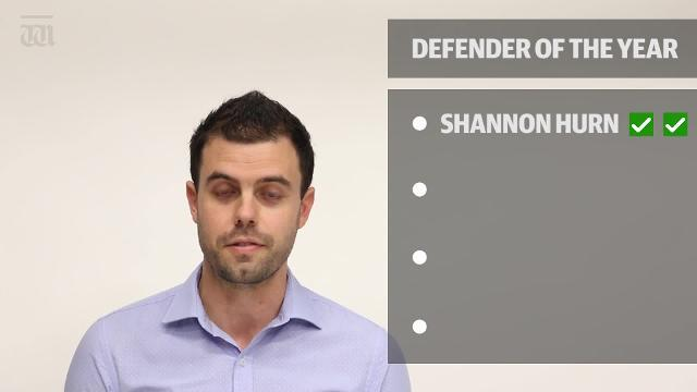 WATCH: Alex Rance and Shannon Hurn have been voted as the two best defenders for the 2018 season by our team.