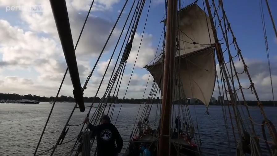 The public can now enjoy a Twilight Sailing Experience on board the Duyfken replica, but only until the end of March.
