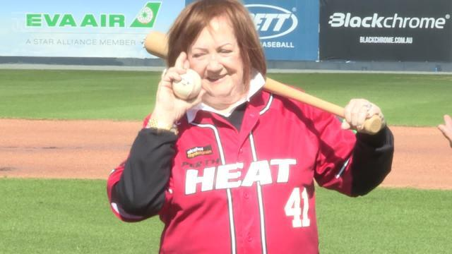 Eileen Bond and businessman Rory Vassallo are part of a consortium that invested in WA's baseball team.