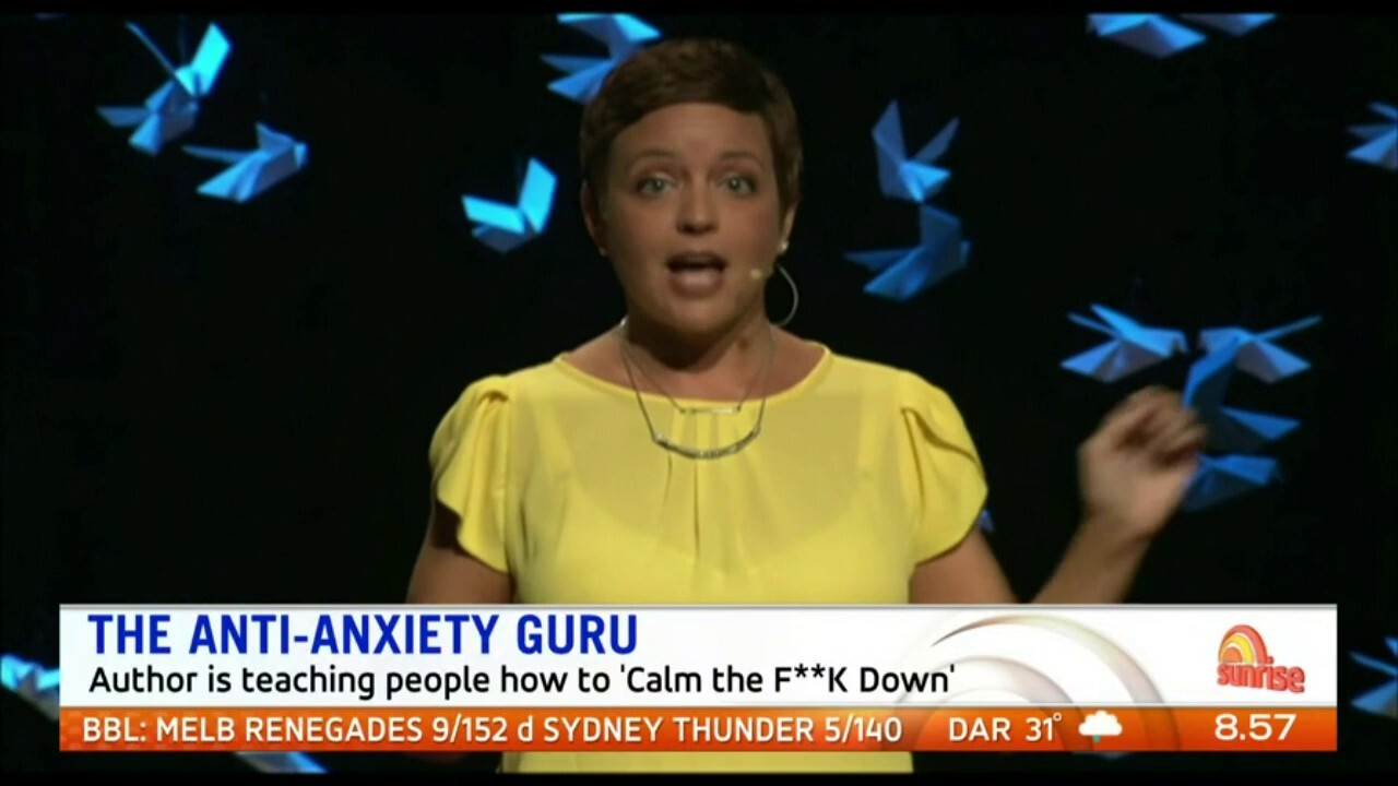 Best-selling author Sarah Knight is changing lives with her book series on beating anxiety