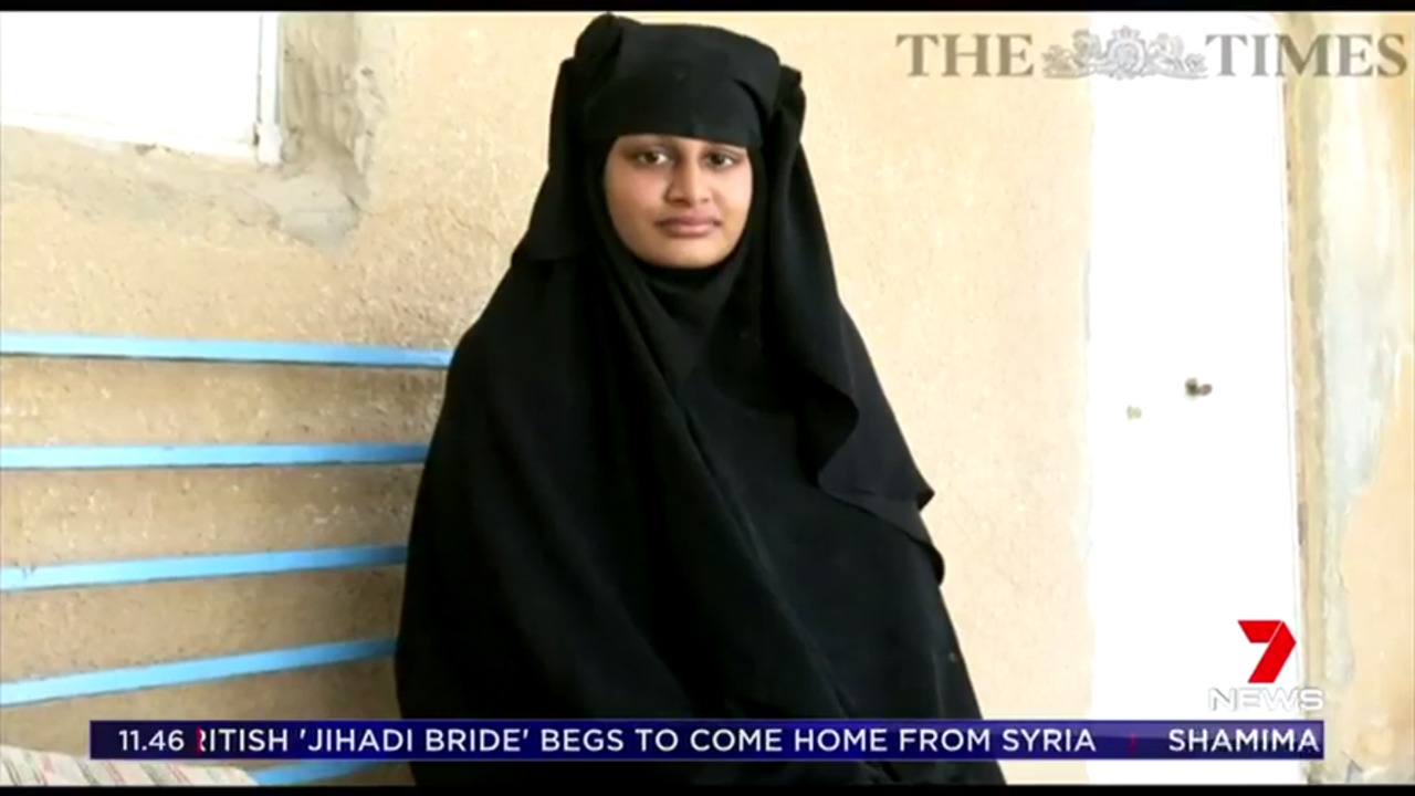 The schoolgirl who travelled to Syria as a 15-year-old to join ISIS is now 19, pregnant and wants to return to the UK