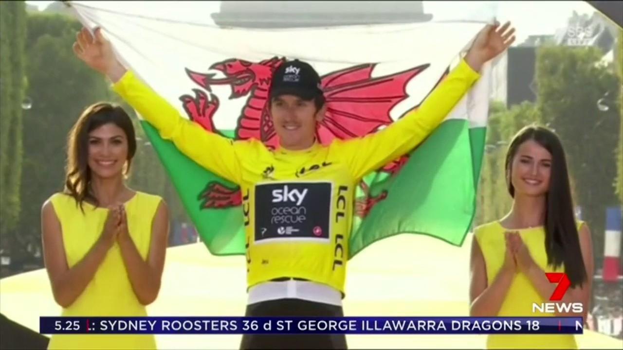 Thomas has become the first Welshman to win the race in its 115 year history