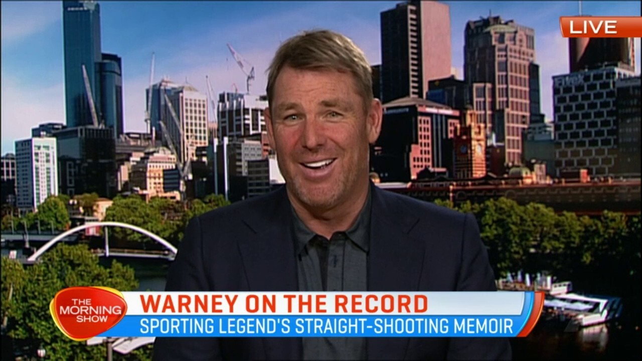 Shane Warne talks family, friends and his very public love life