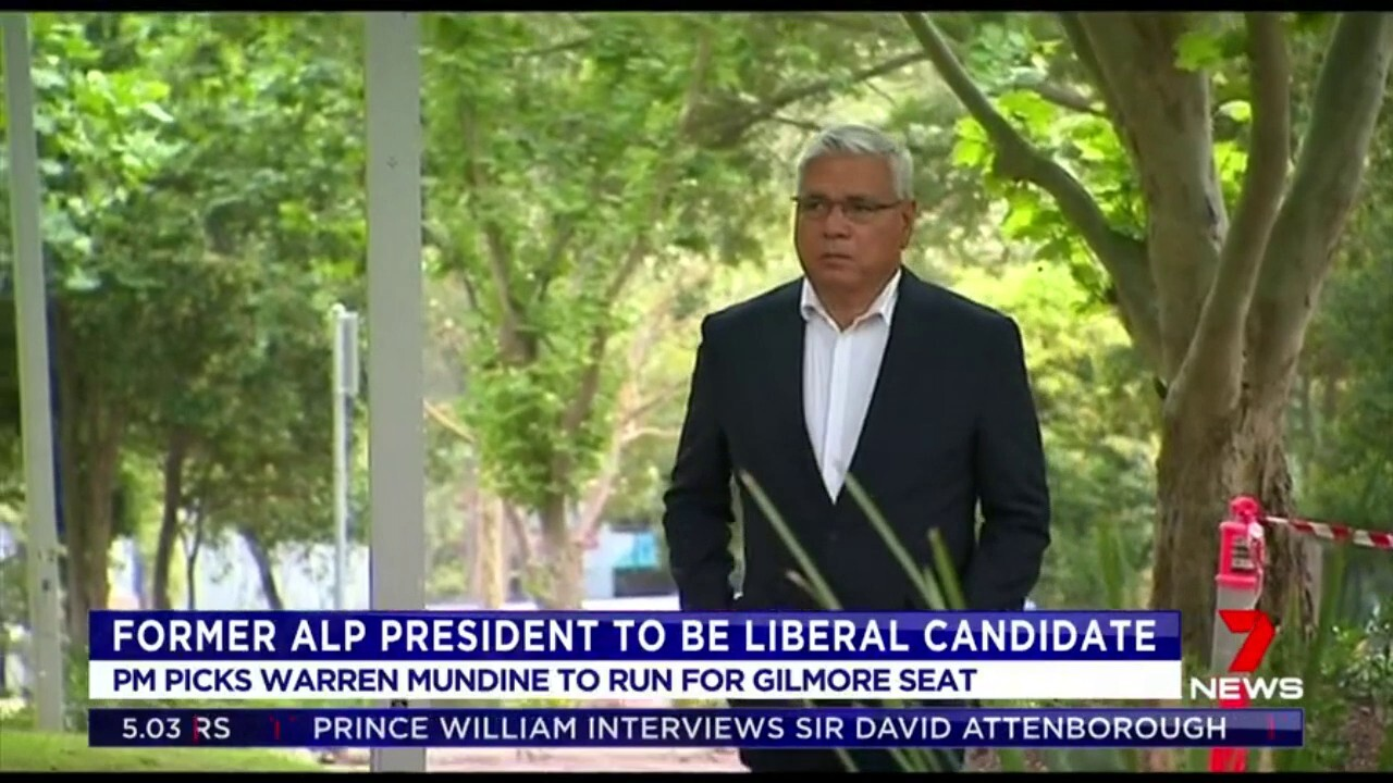 Scott Morrison is facing backlash within his own party after choosing Warren Mundine to run for the seat of Gilmore in NSW
