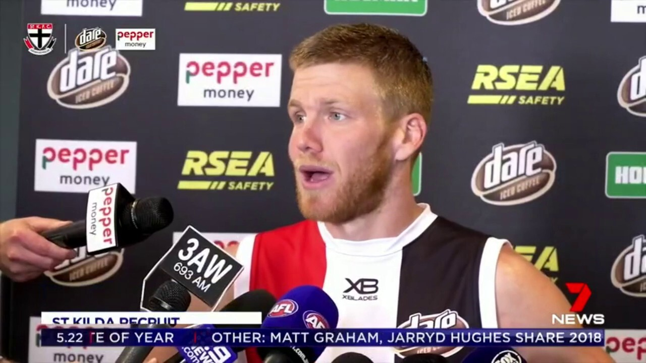 The former Swan's star admits he has a point to prove at the Saints next season