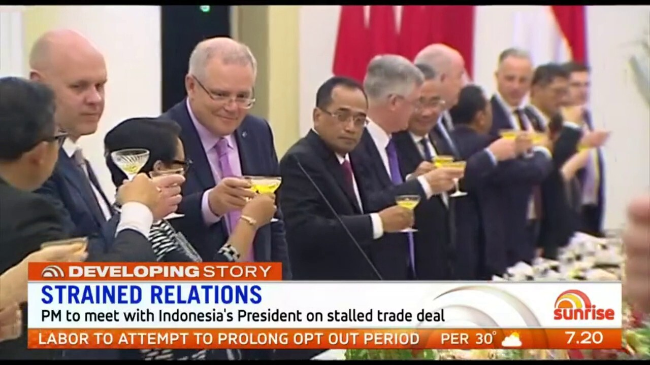 Scott Morrison is in Singapore to meet with world leaders for the ASEAN summit but there is already a diplomatic issue for the PM over a trade deal with Indonesia