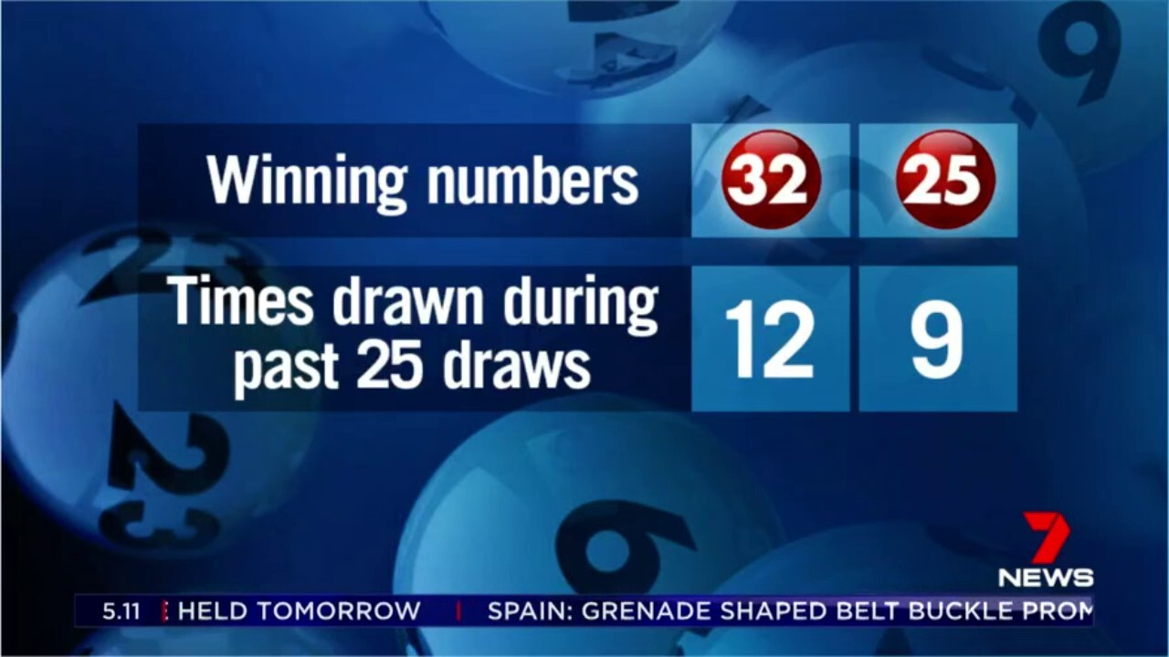 The most drawn numbers have been revealed ahead of tonight's $60 million Powerball prize