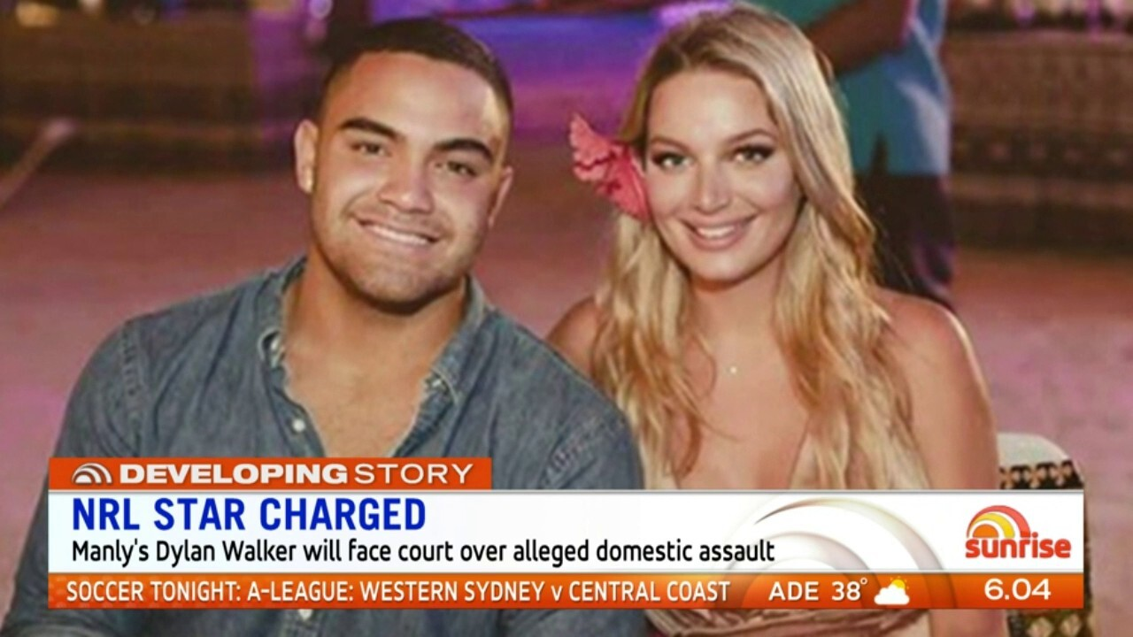 The Manly player will face court over an assault of a 24-year-old woman.