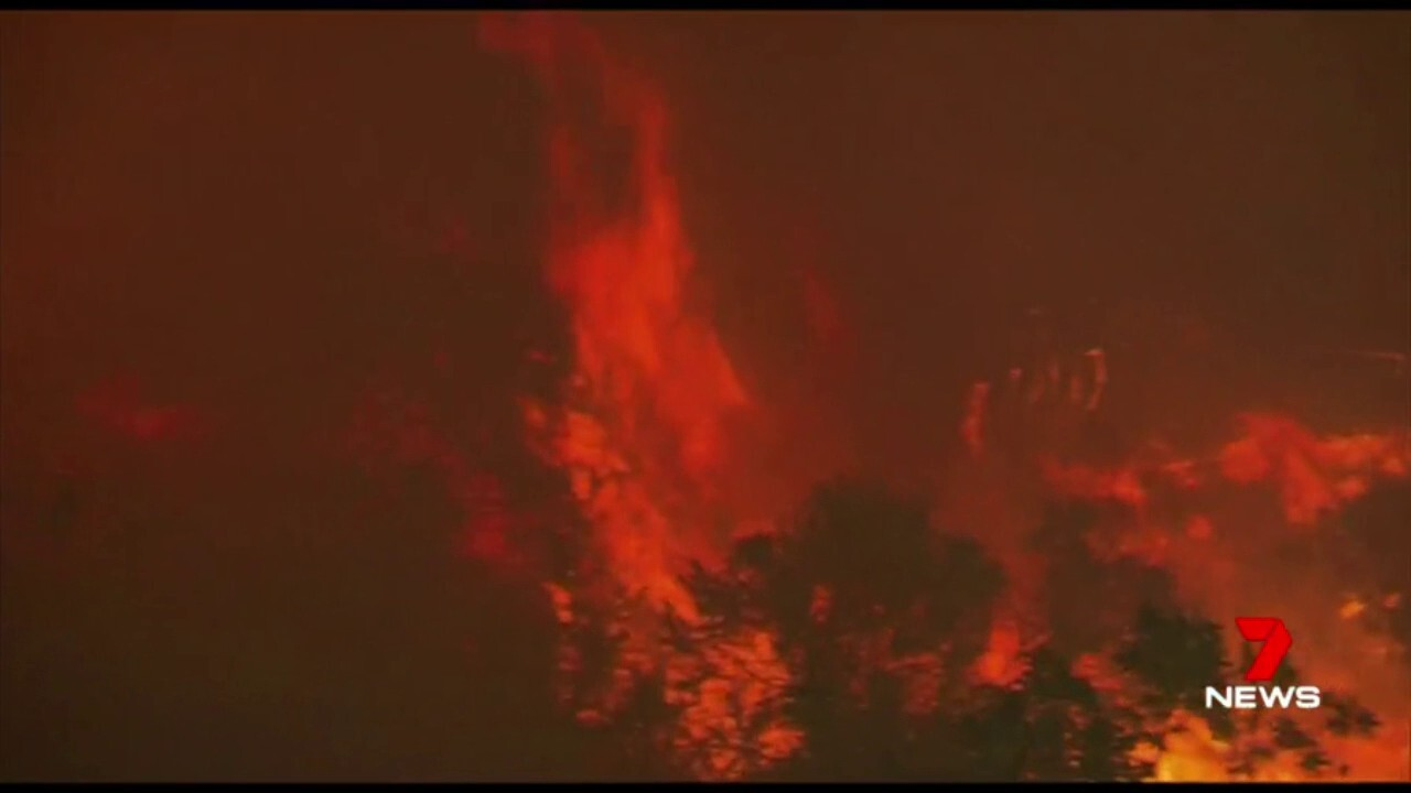 25 people have died and entire neighbourhoods have been lost as the Californian fire emergency continues.