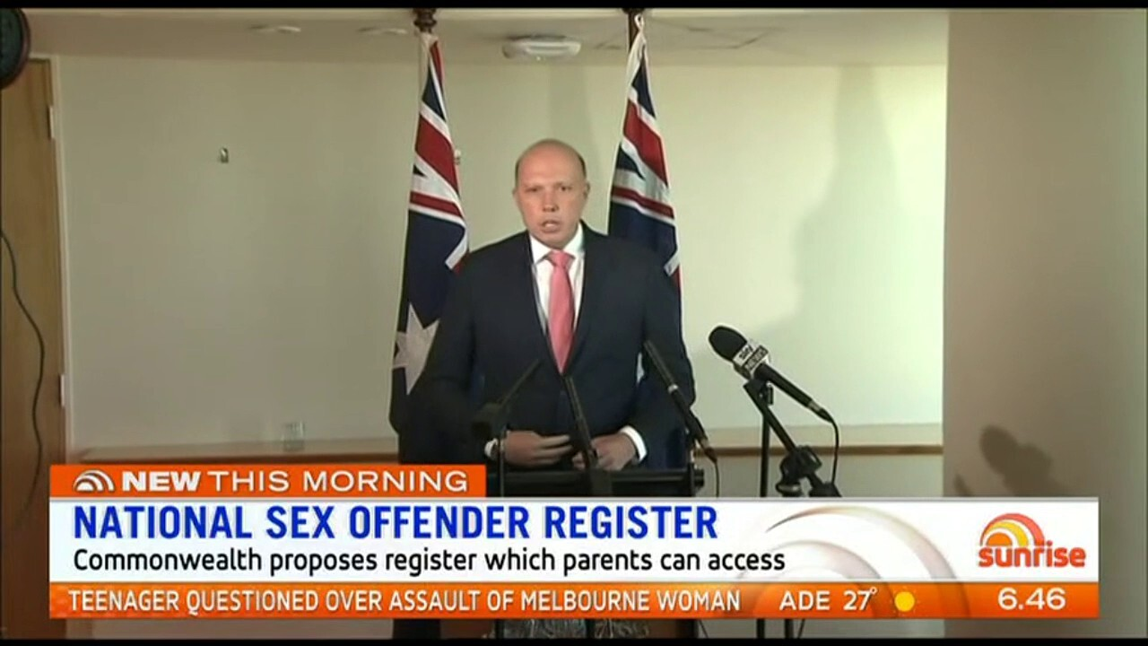 States urged to sign up to national sex offender register | The West  Australian