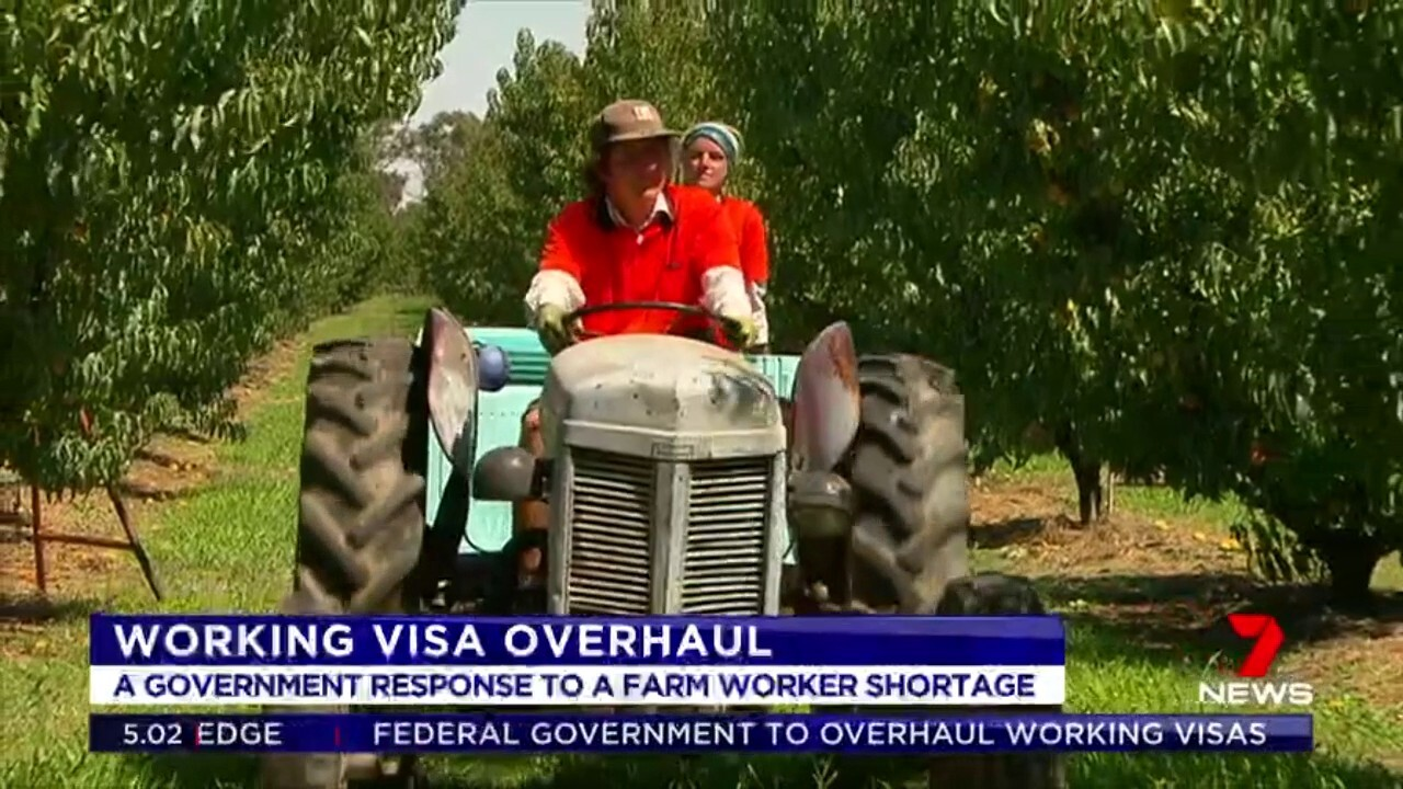 Scott Morrison will unveil a raft of changes around working holiday visas so its easier for farmers to find labour