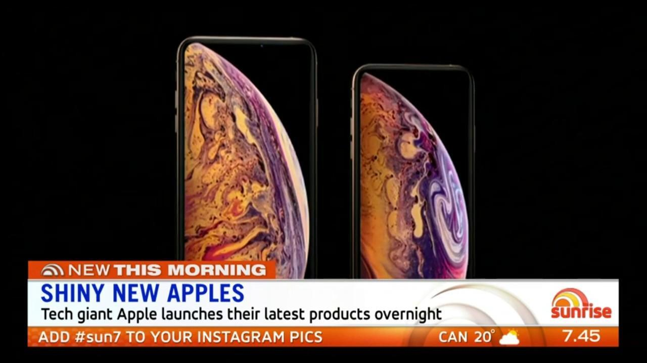 Sunrise tech expert Val Quinn explains the features of Apple new high-tech products