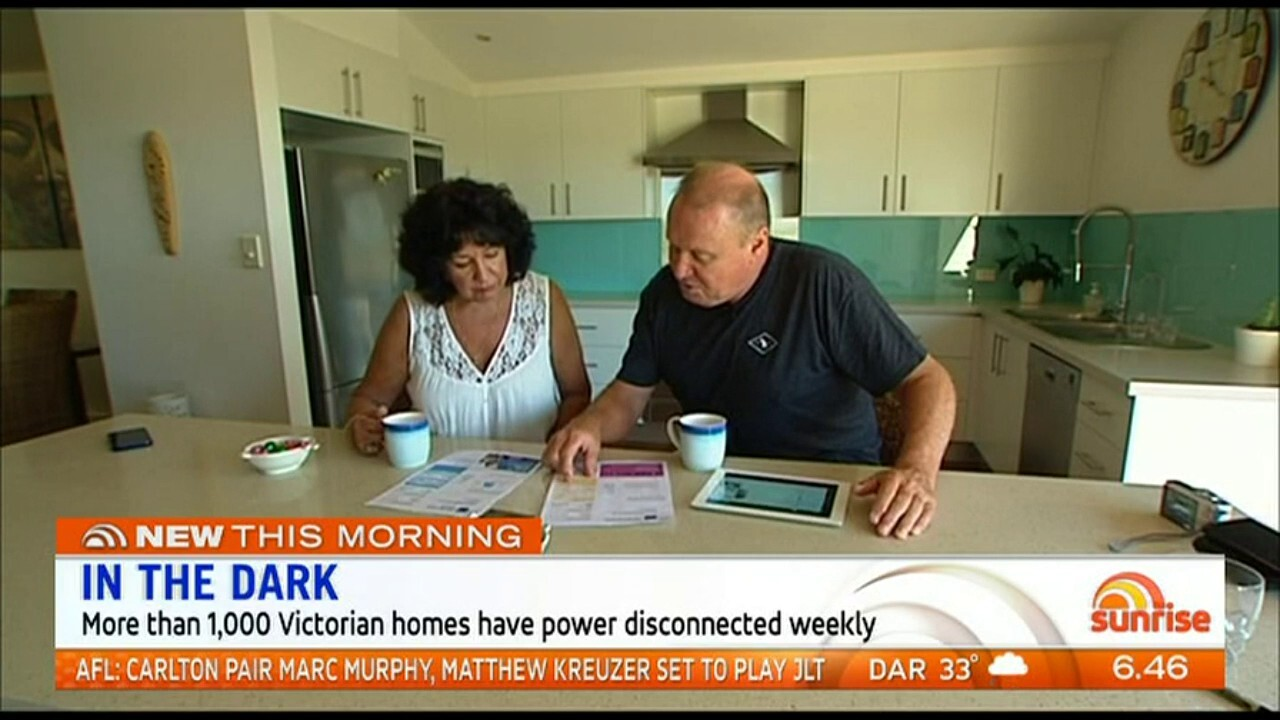 More than 1,000 Victorian homes have power disconnected weekly.