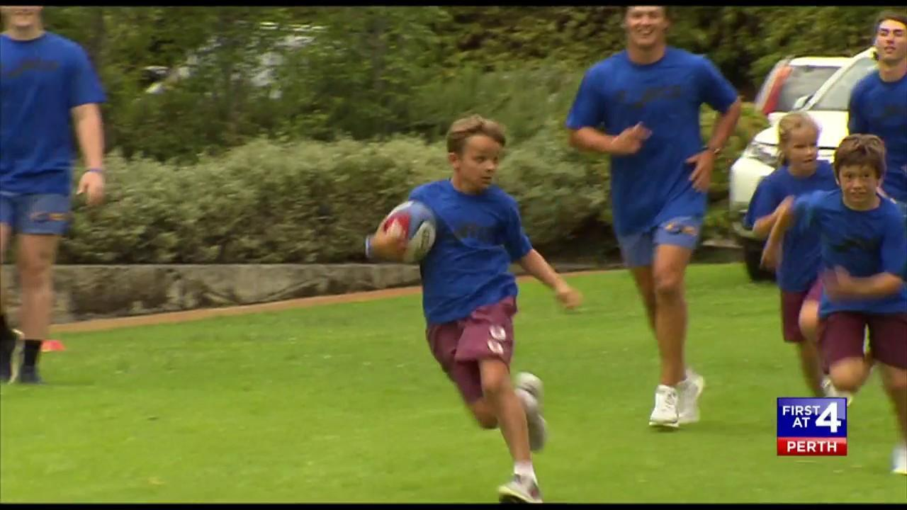The WA mining billionaire hopes it will boost the number of kids playing rugby.