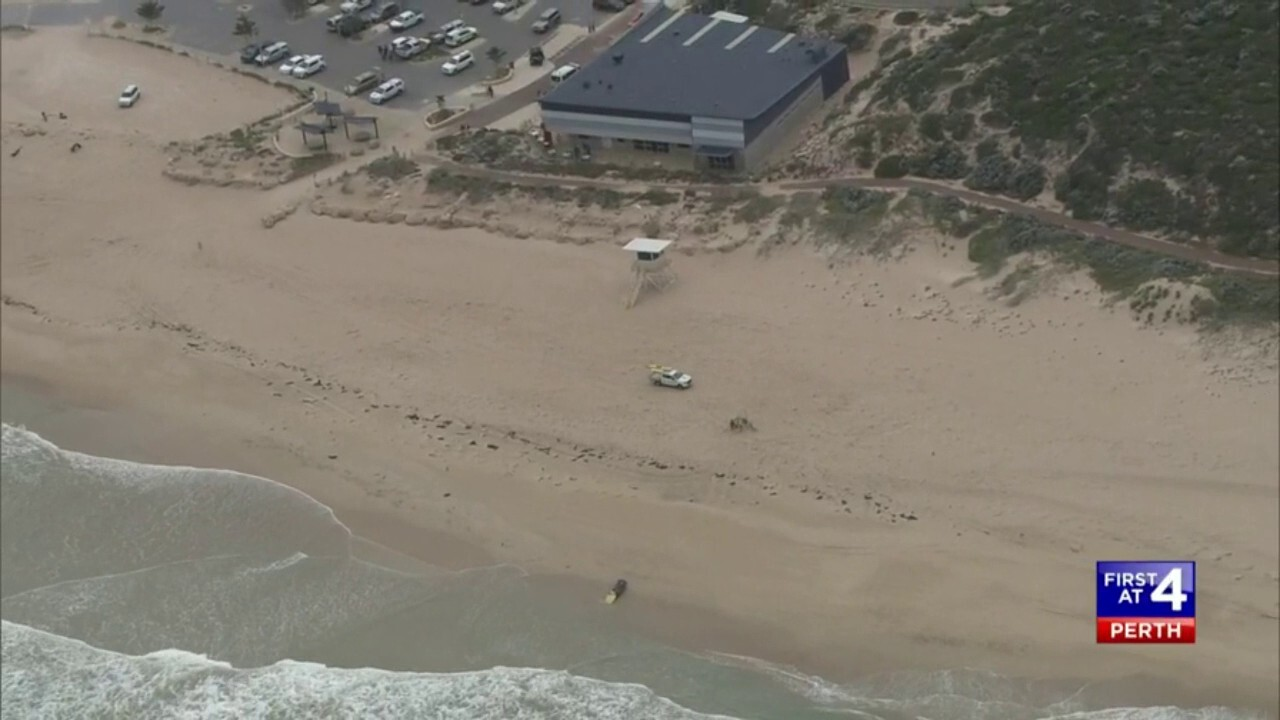 Beachers around the area a man was attacked by a shark on Sunday have been re-opened.