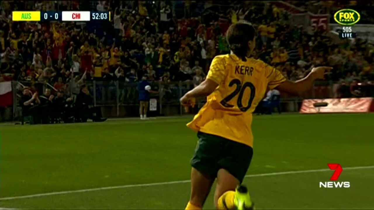 After a rough run for the Matilldas, Sam Kerr has lifted the team.