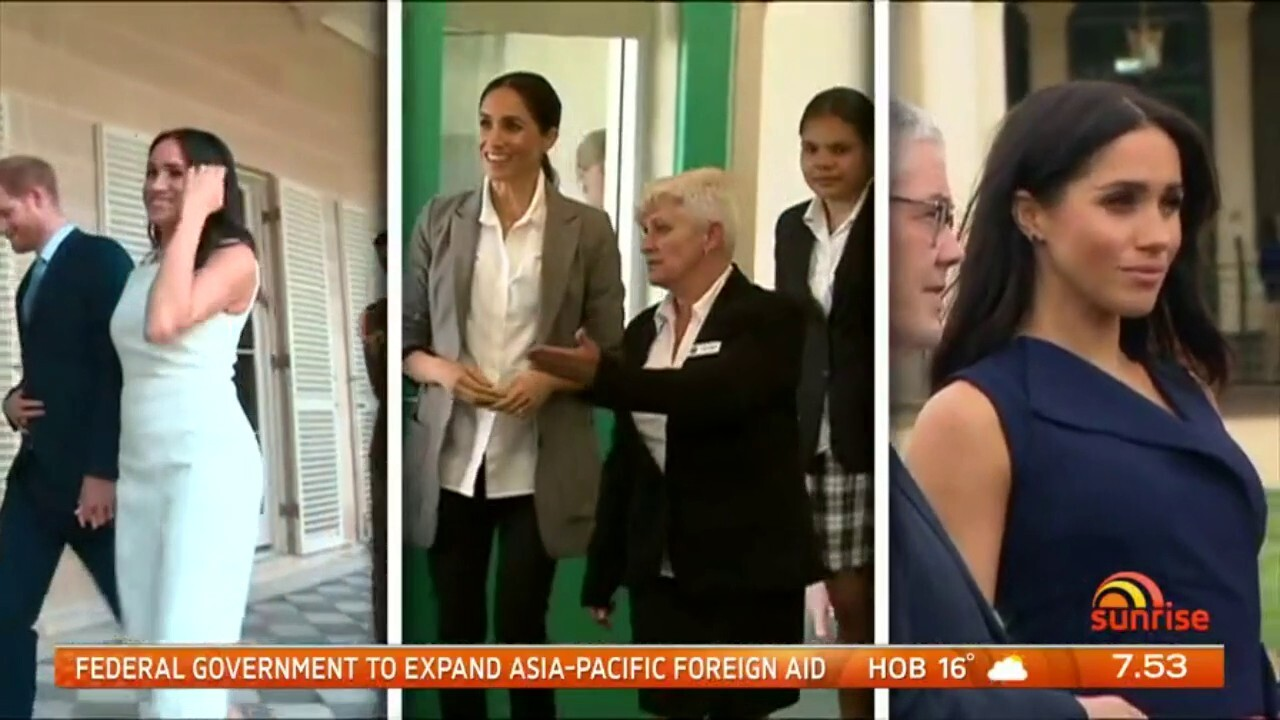 During the royal tour of Australia and the Pacific the Duchess of Sussex racked up a clothing bill estimated at $213,000