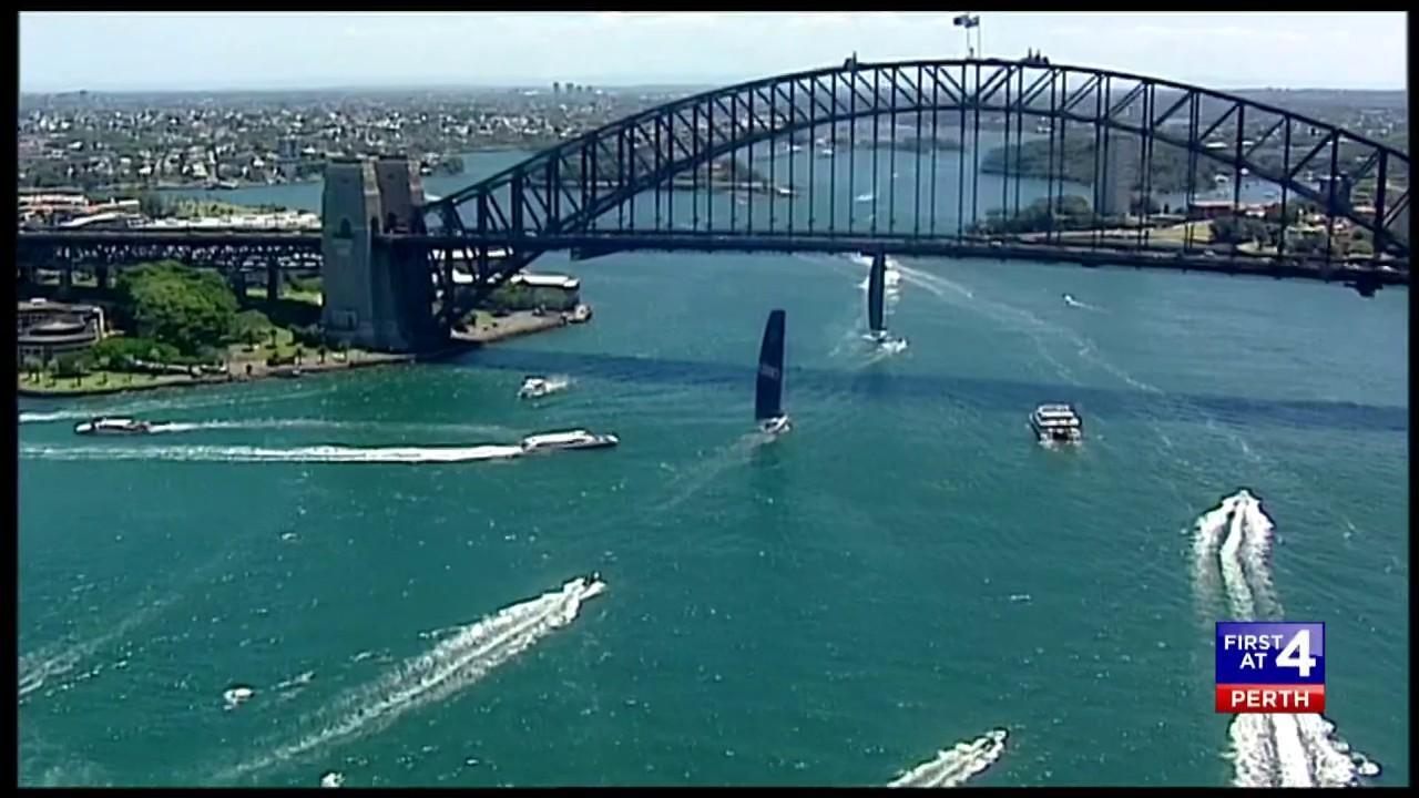 Princess Mary of Denmark and Crown Prince Frederik were in Sydney Harbour.