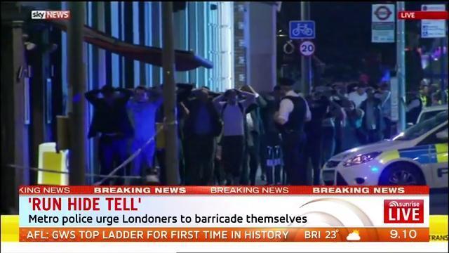 London attack: van runs down pedestrians   The West Australian