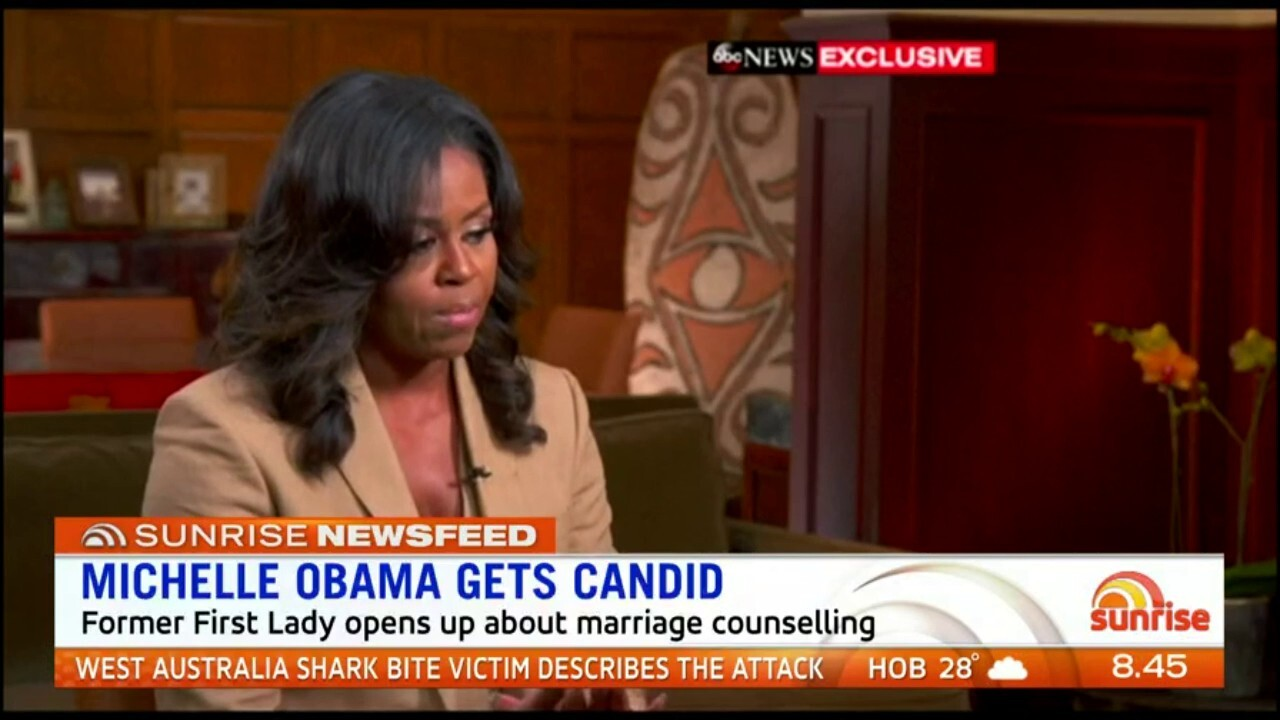 The former First Lady got candid about marriage with Barack Obama.