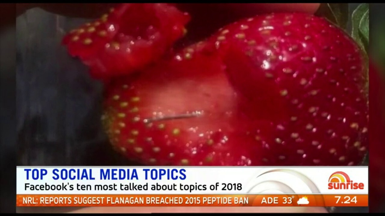 Royal weddings, leadership spills and the strawberry contamination were the most talked about topics this year