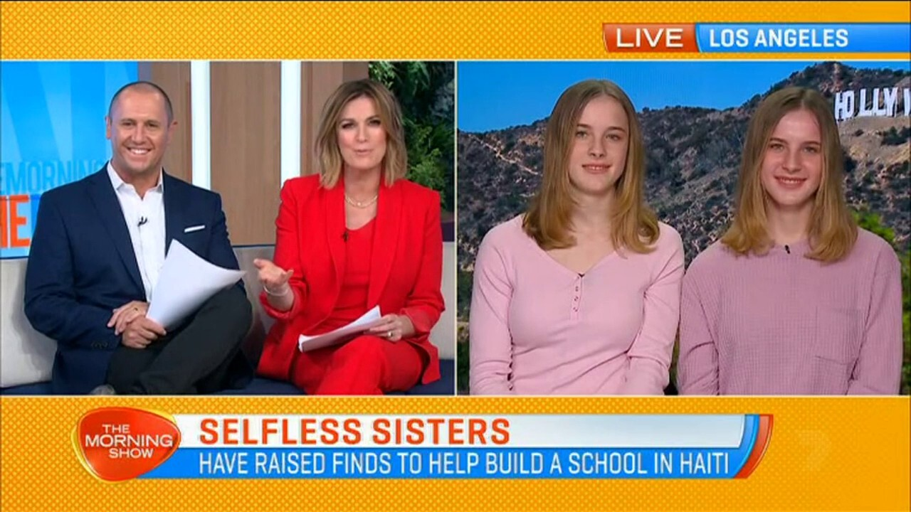 Ross and Rachel's baby would be about to turn 18, Sunrise talks to the twins who played the role of their daughter.