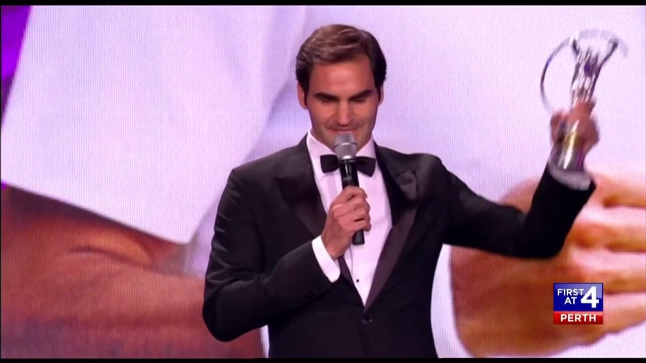 The tennis legend now has more Laureus awards than any other athlete.