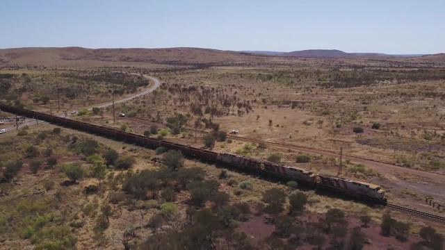 Rio Tinto makes Australia's first unmanned heavy train haul