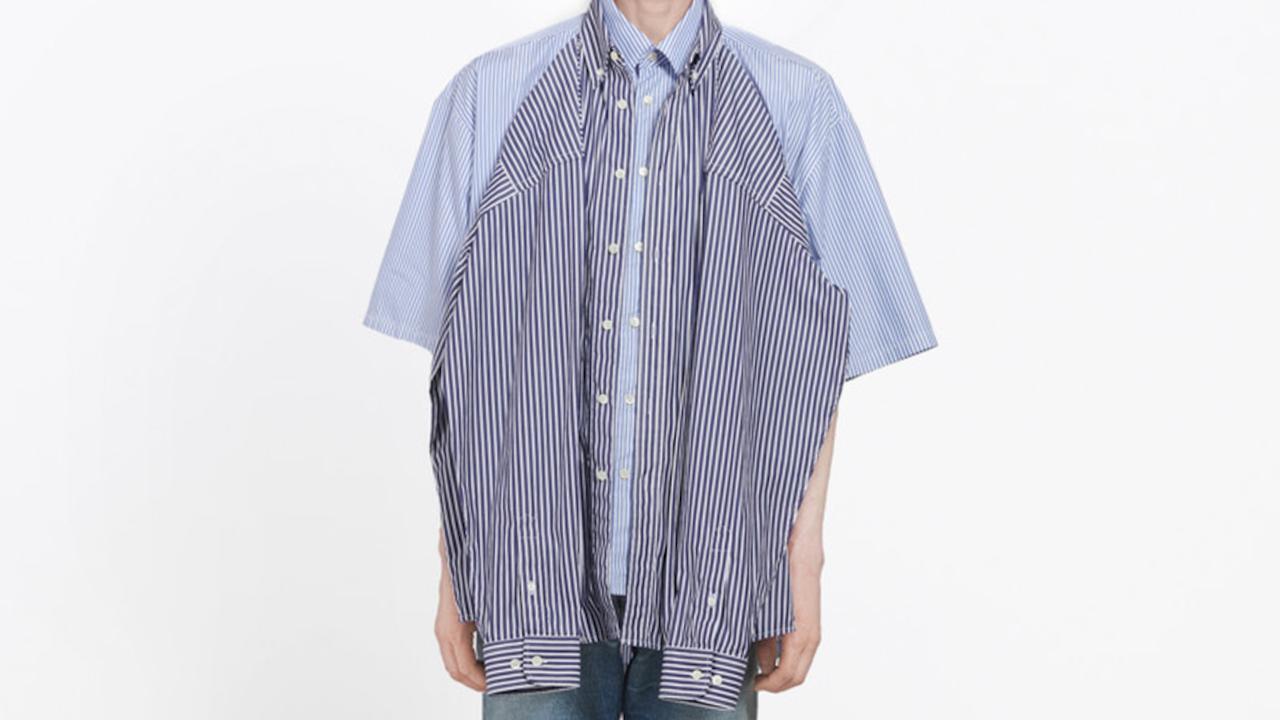 "A ""T-shirt shirt"" by Balenciaga has made international headlines."